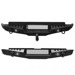 Isuzu D-Max 2012+ Sonrası Arka Demir Tampon - Rear Bumper Black AQM