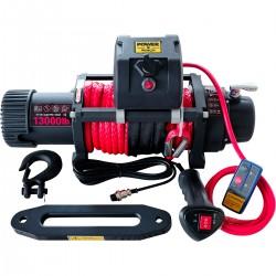 Power Winch 13000 lb Sentetik Halatlı Off-Road 4x4 Elektrikli Vinç